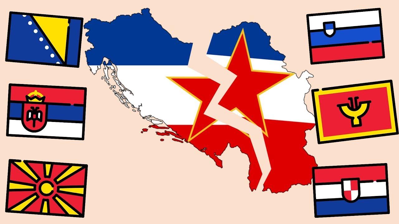 какие страны появились после распада Югославии