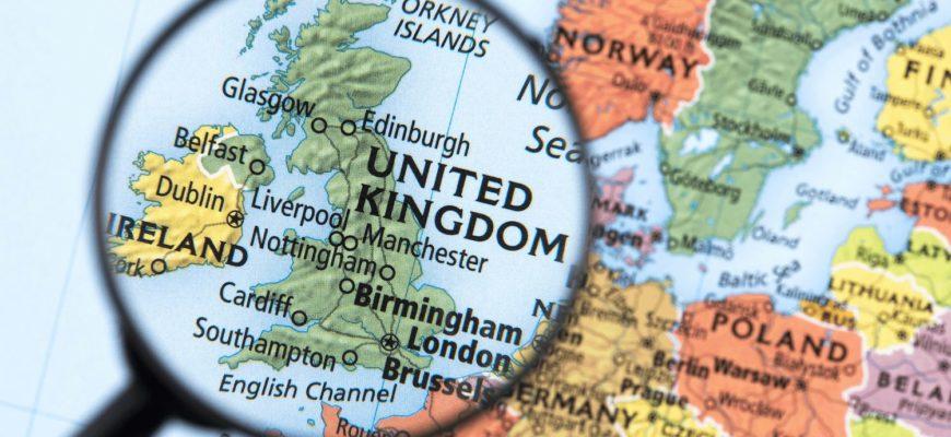 страны, входящие в Англию