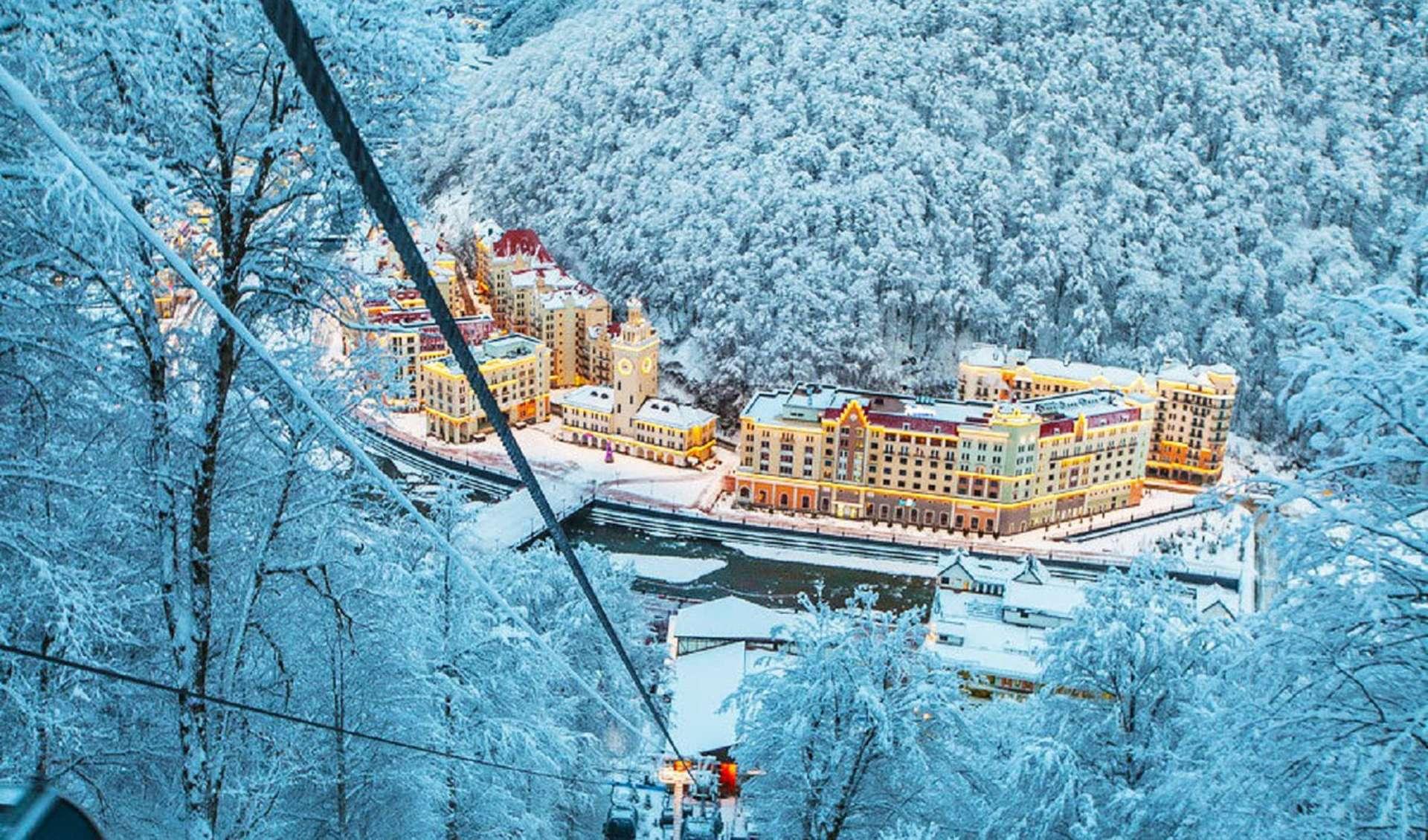 куда поехать в январе в России
