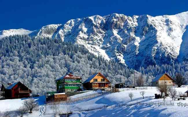 отдых в Карпатах зимой 2021