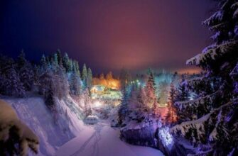 отдых в Карелии зимой 2021