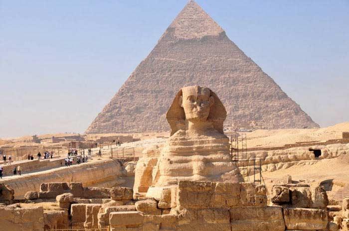 самые известные пирамиды Египта
