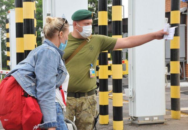 правила въезда для россиян в Украину